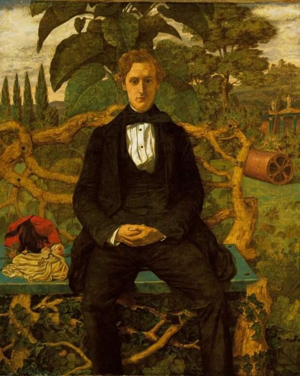 Портрет молодого человека, Ричард Дадд. / Фото: twitter.com.