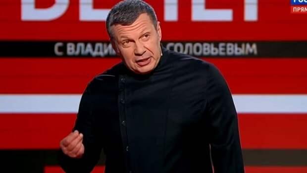 Соловьев объяснил, с кем действительно нужно встретиться Зеленскому в Донбассе