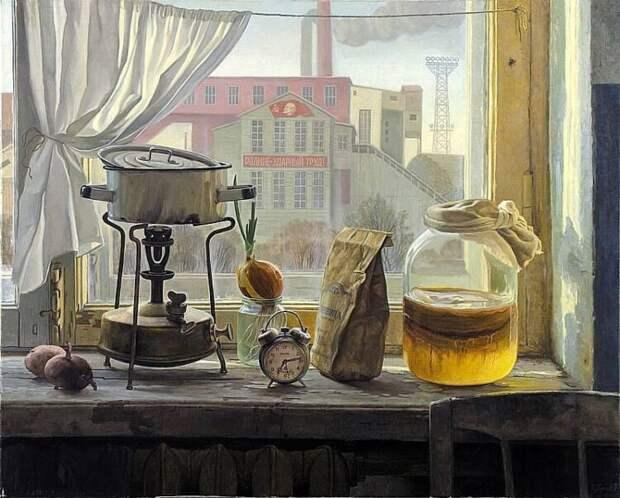 Советское счастье в ностальгической живописи Филиппа Кубарева