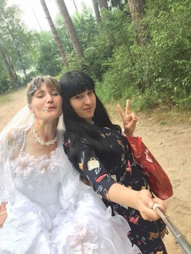 Невеста олицетворяет собой образ чистоты, целомудрия и непорочности