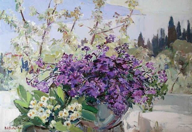 Цветущий Крым. Весна. (700x483, 446Kb)