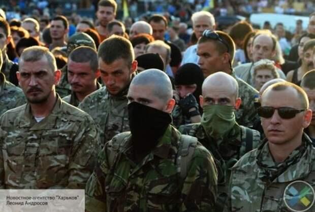Главарь «Нацкорпуса» потребовал посадить в тюрьму Зеленского и Сивохо из-за Донбасса