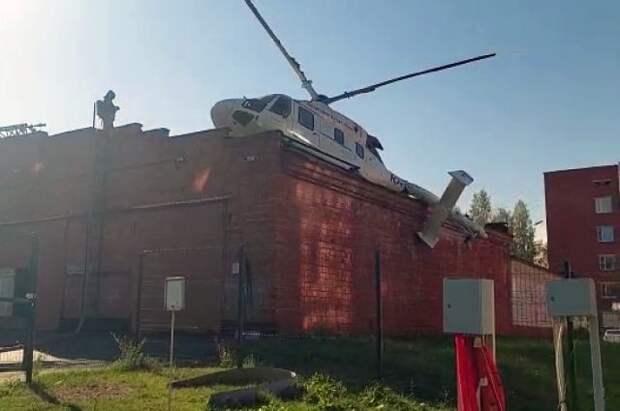 В Ижевске завели дело после аварийной посадки вертолета санавиации
