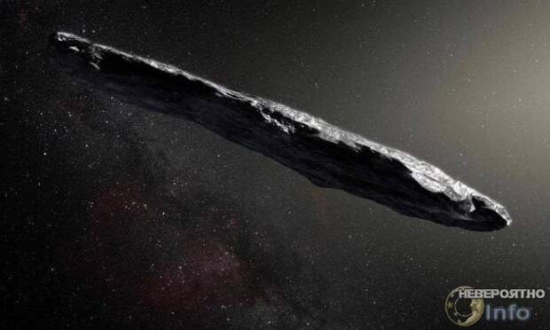 Оумуамуа — не межзвездный астероид, а инопланетный космический корабль