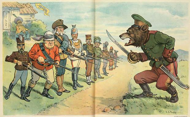 Почему русских стали сравнивать с медведями