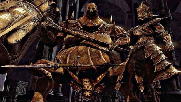 Орнштейн и Смоуг в Dark Souls