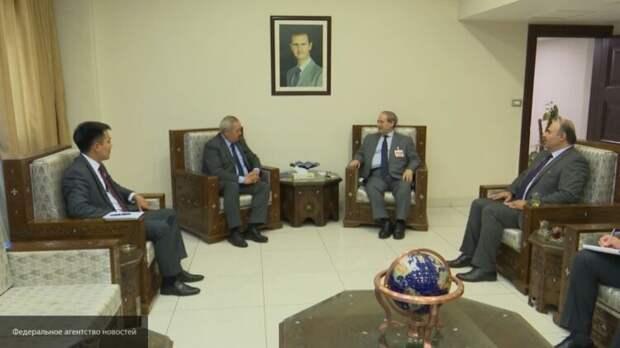 Киргизский дипломат поучаствовал в сирийском форуме по беженцам