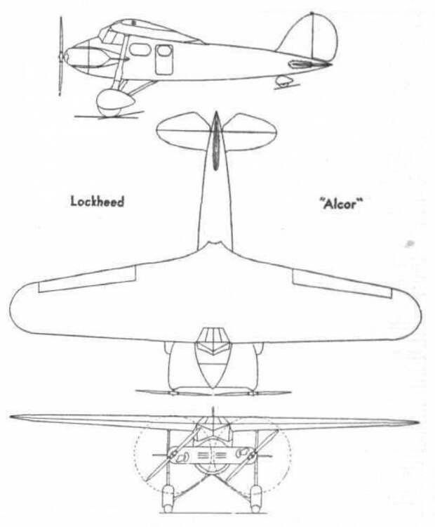 Экспериментальные самолеты Lockheed Duo (США)