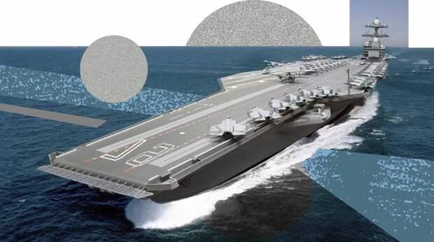 Sohu: строящийся в России авианосец «Москва» станет морским царем