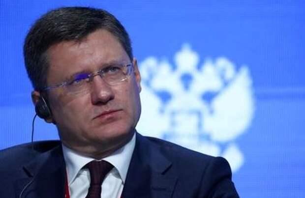 Russian Energy Minister Alexander Novak attends the Energy Week International Forum in Moscow, Russia October 3, 2019. REUTERS/Evgenia Novozhenina