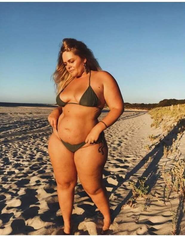 6. Таллула Мун бикини, бодипозитив, вес, женщина, купальник, особенность, тело, фото