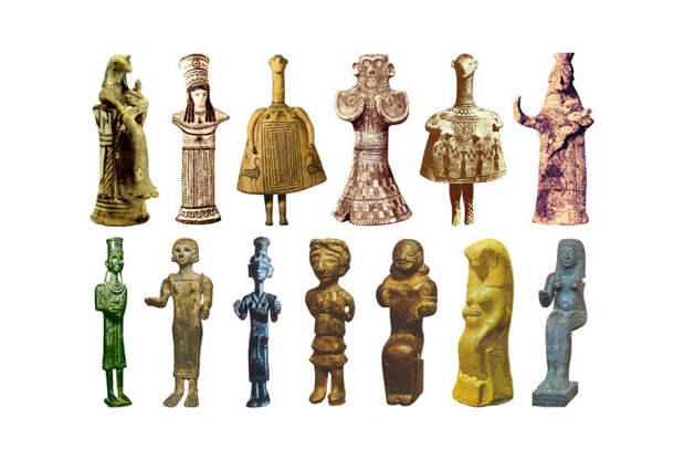 Скульптуры Богинь Железного века