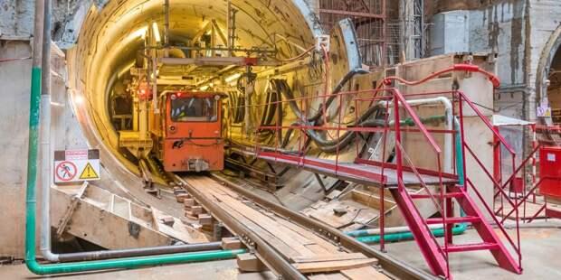 Работы на первом участке линии метро через Строгино начнутся до конца года