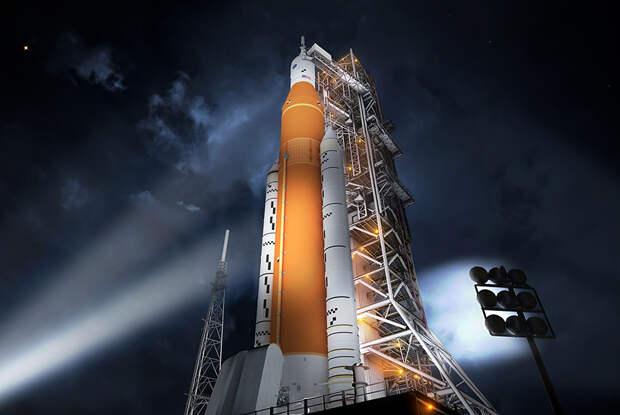 Сверхтяжелая ракета SLS (Space Launch System) НАСА