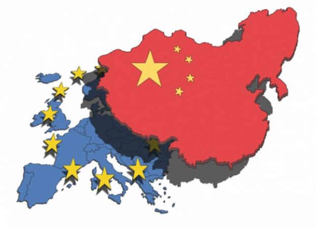 Европа повернулась задом к США и Британии, заключив стратегический договор с Китаем