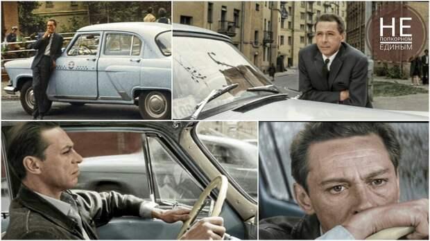 «Три тополя на Плющихе» – стильный Олег Ефремов и Волга ГАЗ-21 просто созданы друг для друга