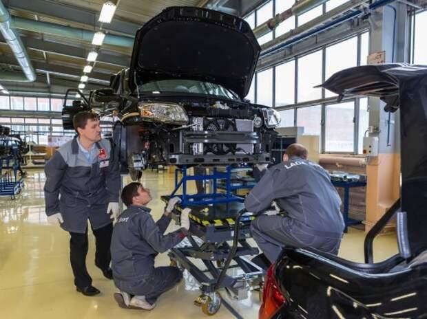 АВТОВАЗ заработал от сборки автомобилей Nissan и Renault