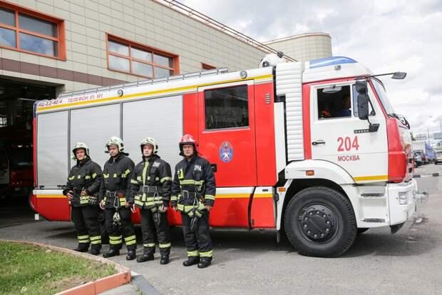 Пожарно-спасательный отряд № 204 отмечает 12-летие со дня образования