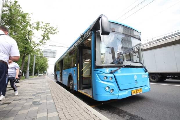 Автобусы для учащихся в СВАО вновь вышли на линию