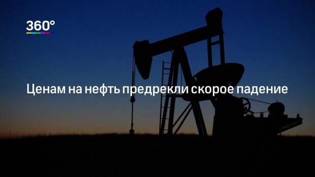 Ценам на нефть предрекли скорое падение