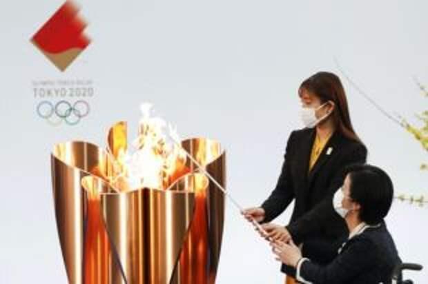 В Токио стартовал заключительный этап эстафеты олимпийского огня