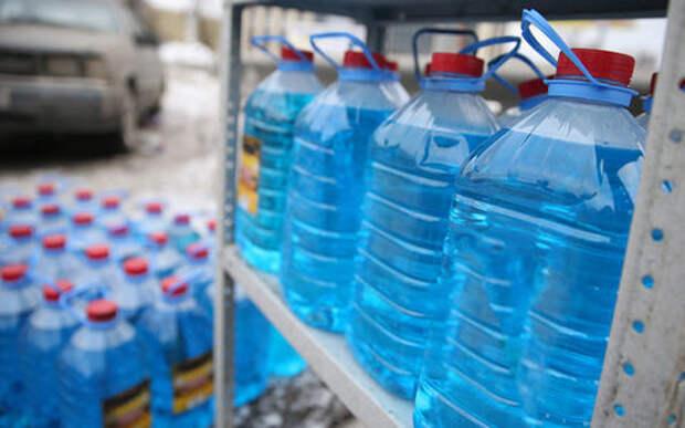Роспотребнадзор конфисковал 700 тысяч литров метанольной незамерзайки