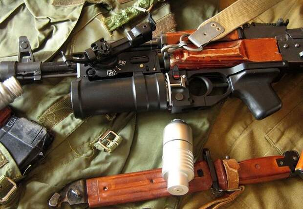 Подствольный гранатомёт ГП-25 – серьёзный аргумент в паре с автоматом Калашникова