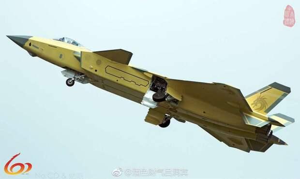 Истребитель Chengdu J-20. thedrive.com - Китайский «стелс» в деталях | Warspot.ru