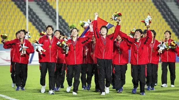 Началось объединение КНДР с Южной Кореей — пока только в спорте