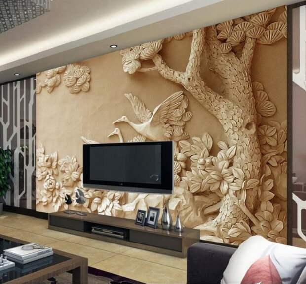 Лучший декор стен для гостиной 2021
