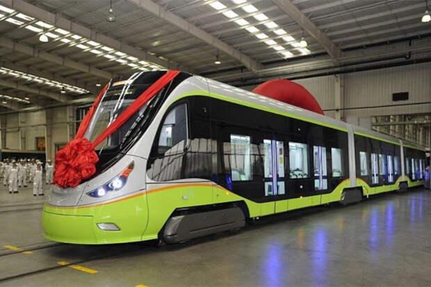 Трамвай беспилотник