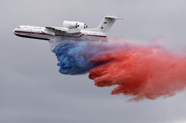 Бе-200 на авиасалоне МАКС-2009