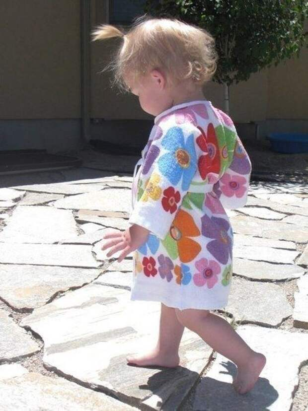 Халат из полотенца (diy)