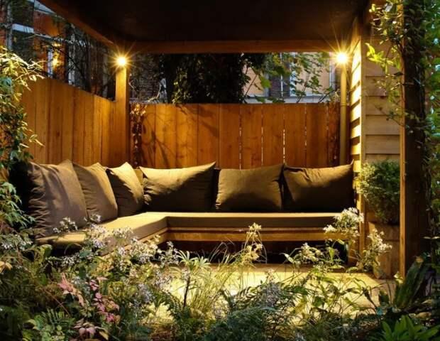 Беседки и перголы - релакс в саду