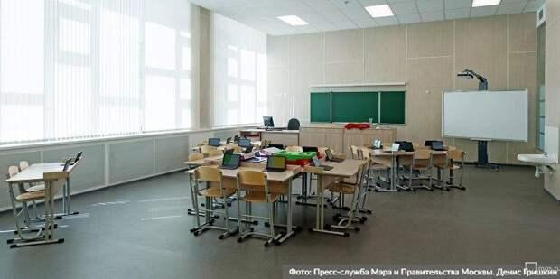 Собянин: Школьные каникулы продлят для сокращения заболеваемости. Фото: Д. Гришкин mos.ru