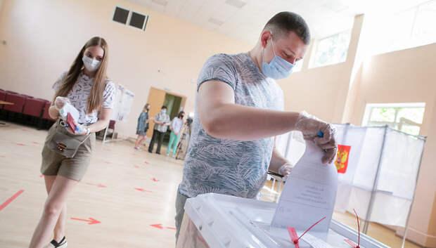 Избирательные участки в Подмосковье заработали в штатном режиме