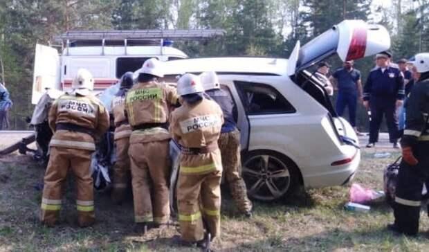 Пять человек погибли вДТП смикроавтобусом натрассе Екатеринбург-Курган