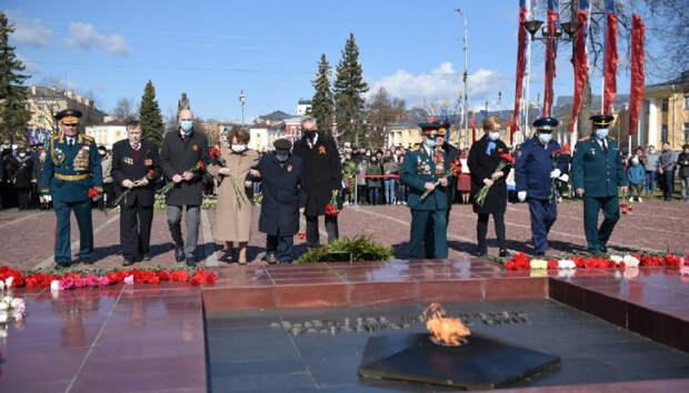Петрозаводск отмечает 76-ю годовщину Великой Победы