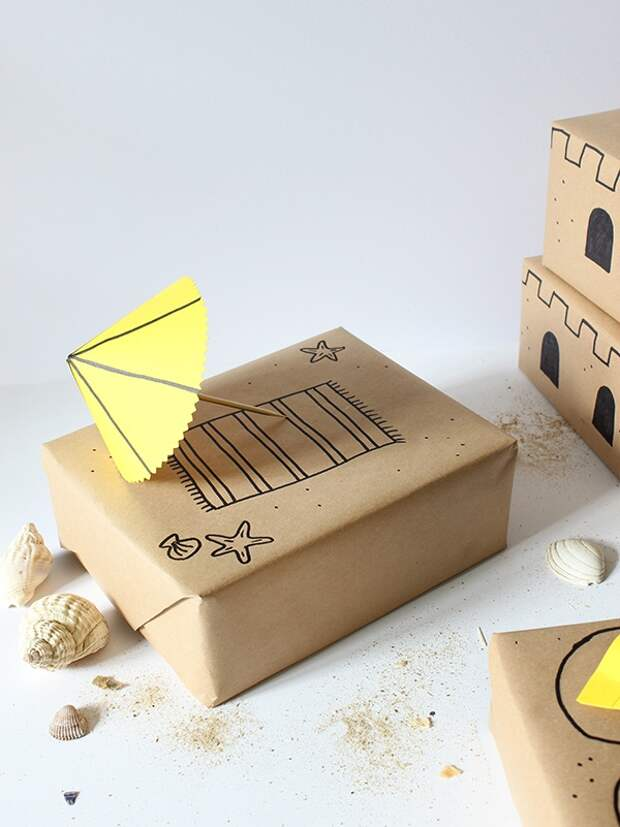 Упаковки подарков с юмором (трафик)