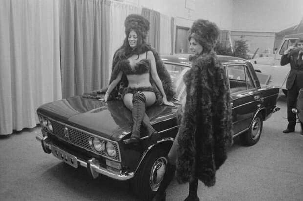 Не помогли даже девушки в соболиных бикини или как рекламировали в США наши ВАЗ 2103
