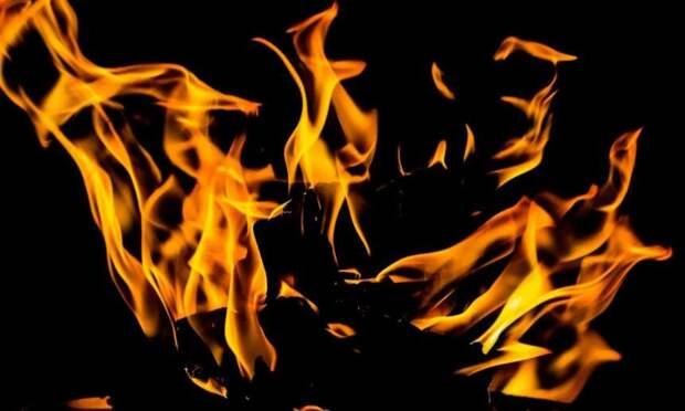 ВСеверодвинске произошёл пожар вжилой пятиэтажке