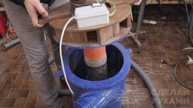 Мощный пылесос для домашней мастерской