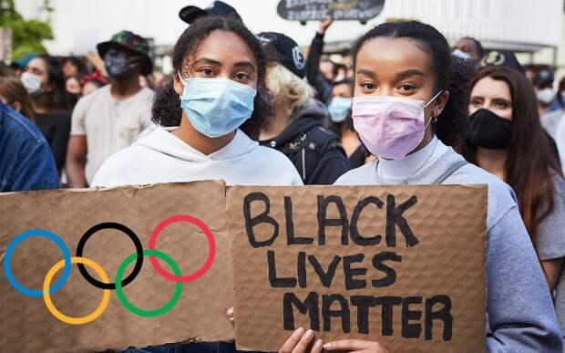 МОК запретил акции в поддержку Black Lives Matter на Олимпиаде в Токио
