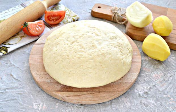 Дрожжевое тесто. \ Фото: photorecept.ru.
