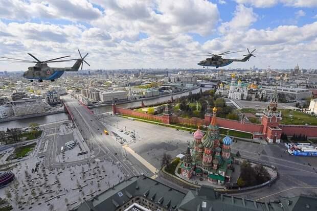 Началась прямая трансляция генеральной репетиции Парада Победы в Москве