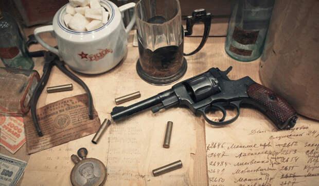 Наган - легендарное оружие НКВД, которое используют до сих пор