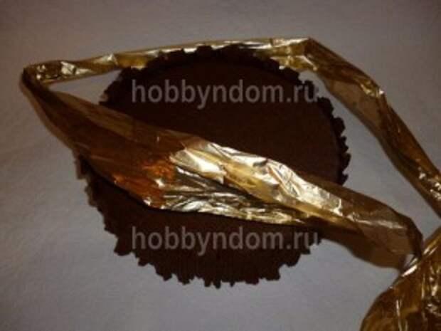рог изобилия из конфет (21)