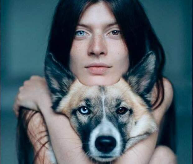 Евгения Драч, волонтёр в приюте для животных
