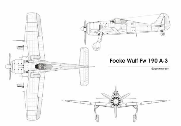 Как британцы завладели истребителем «Фокке-Вульф-190»