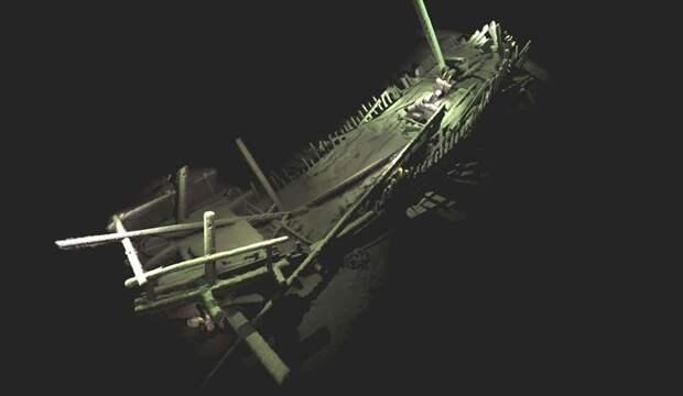 На дне Черного моря обнаружили в полной сохранности 40 османских и византийских кораблей  корабль, находка, черное море